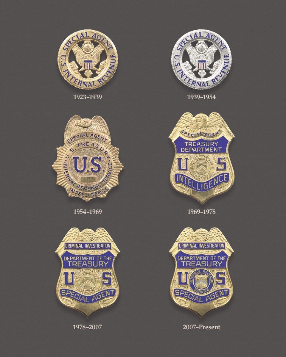 IRS-CI badges