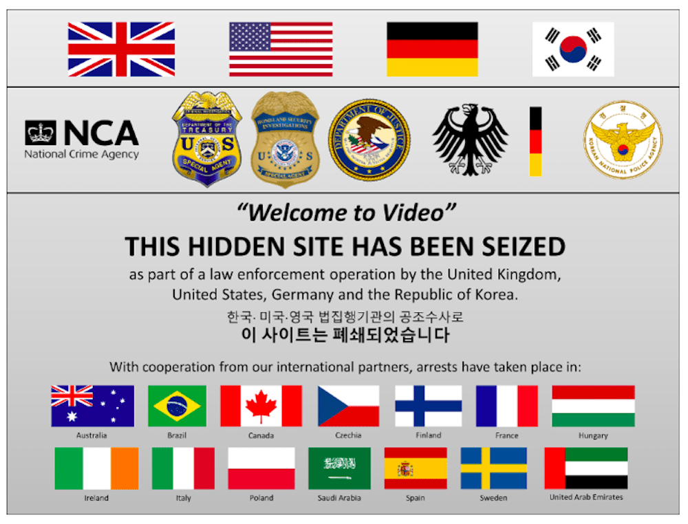 Welcome To Video takedown
