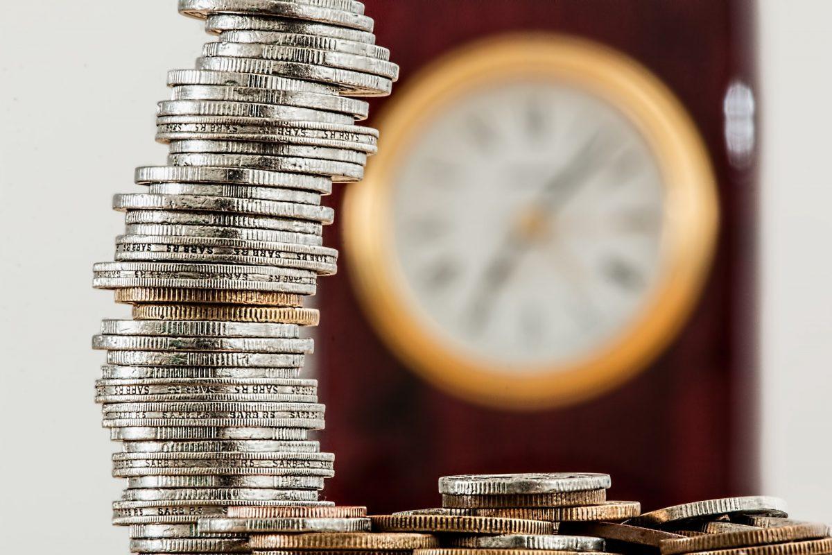 coins clock