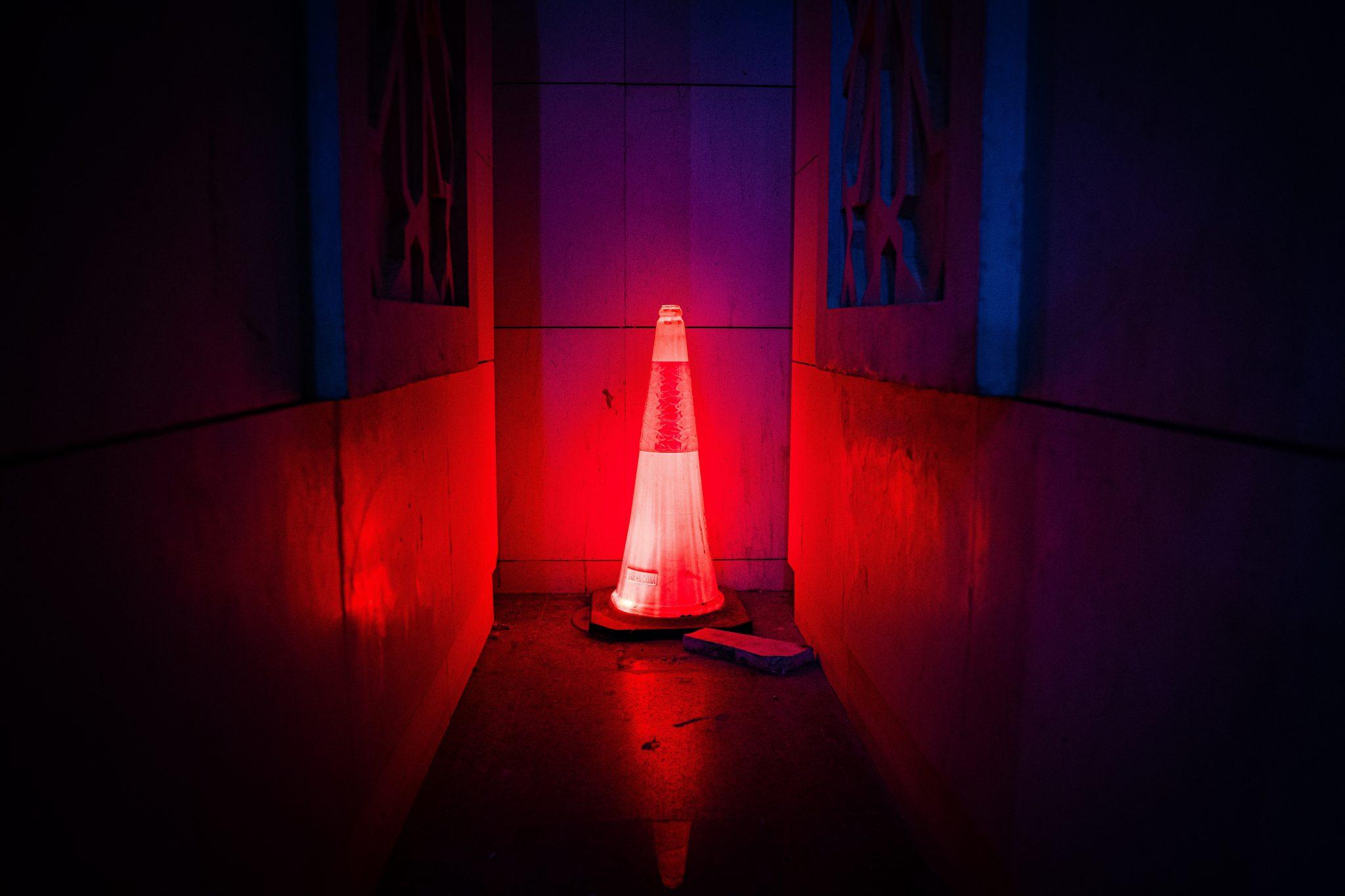 warning cone