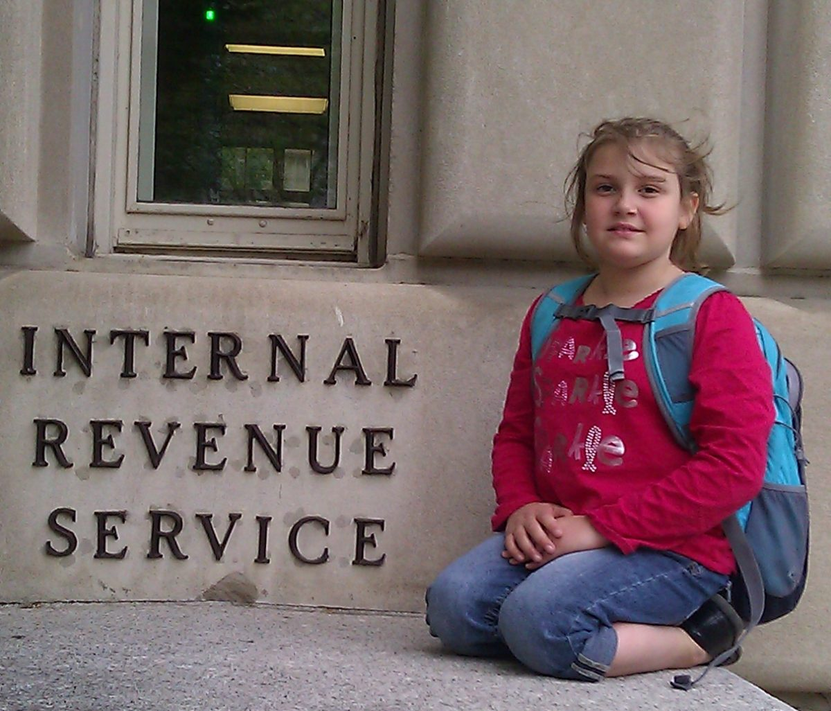 Child at IRS